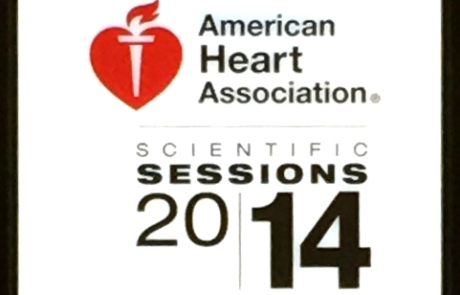 Dr. Hodis at the 2014 American Heart Association, Chicago