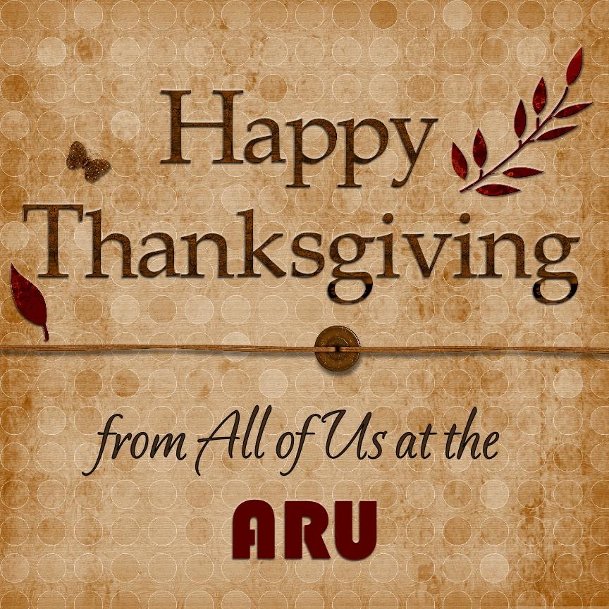 ARU Happy Thankgiving 2014