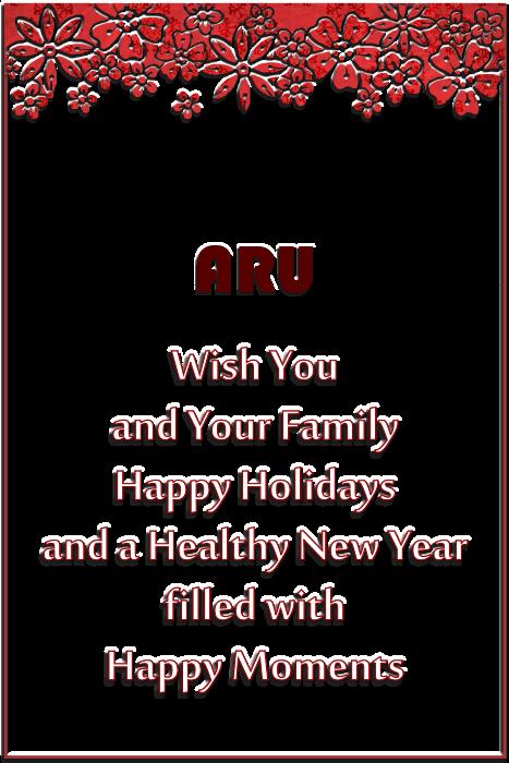 ARU Holiday 2014